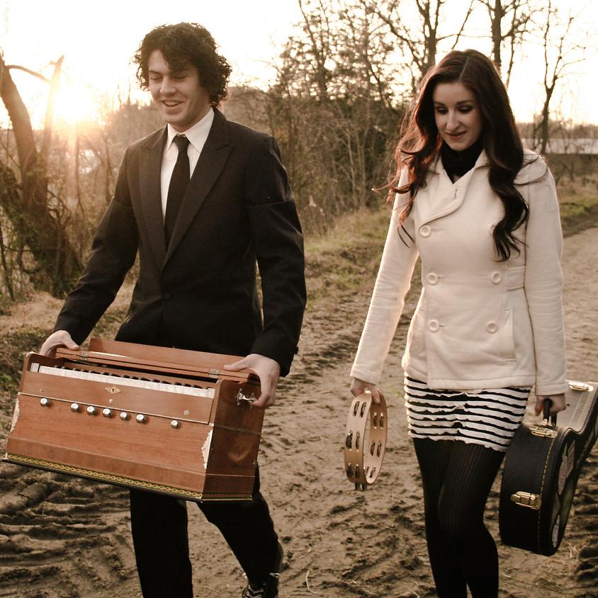 The Honey Badgers a folk duo from Newark, DE 8:30 pm