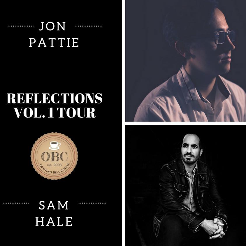 Jon Pattie & Sam Hale Justin Cellum opens! 8:00 pm