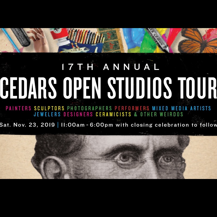 Cedars Open Studio Tours Keith Carey Kathy Baker Mackey & Kally Peterson