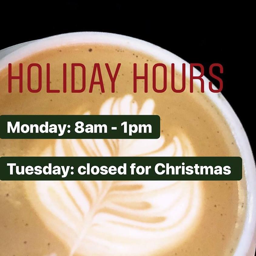 Holidays Hours