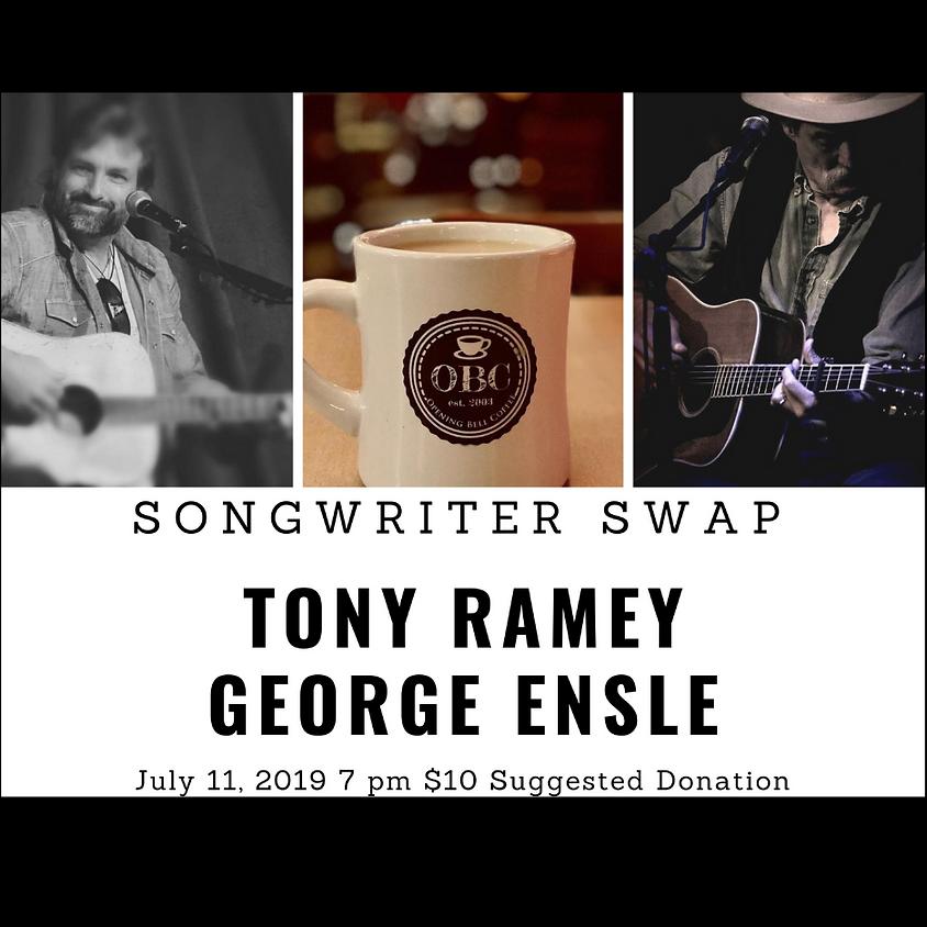 Tony Ramey & George Ensle Songswap 7 pm