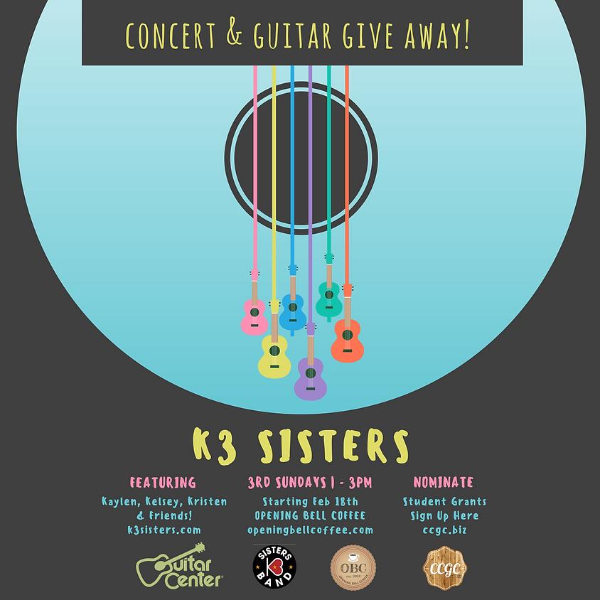 K3 Sisters Band (Dallas, TX) 1:00-3:00 pm