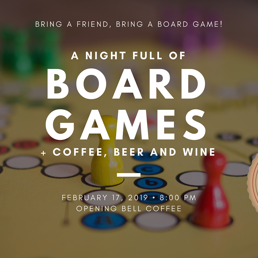 Board Game Night at Opening Bell Coffee