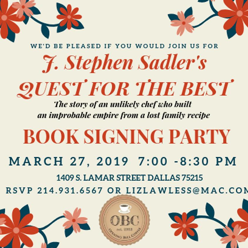 J. Stephen Book Signing