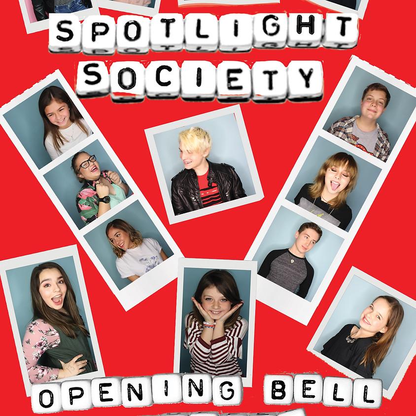 Spotlight Society Showcase 7:00 pm