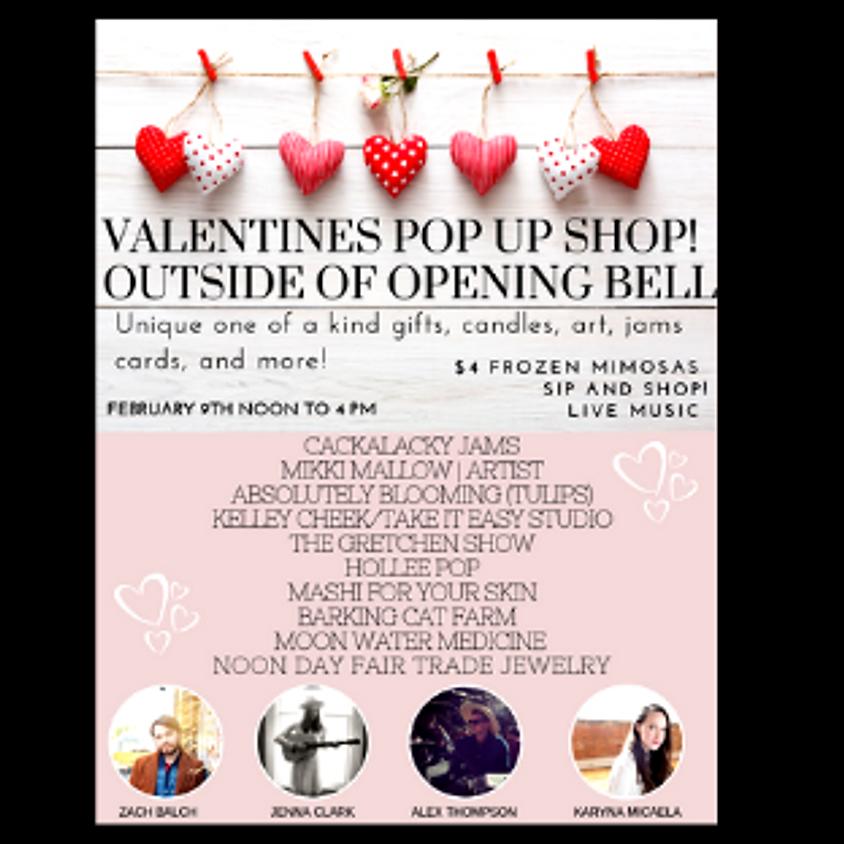 Valentine's Pop Up Noon to 4:00 pm $4 Frozen Mimosas!