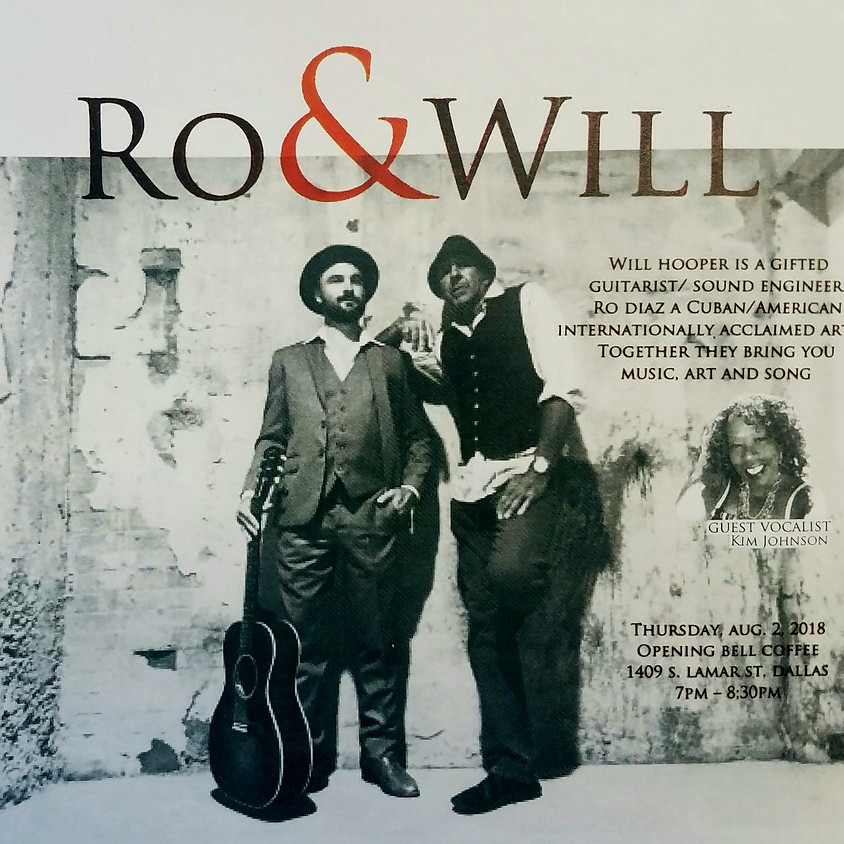 Ro & Will with special guest Kim Johnson 7:00 pm