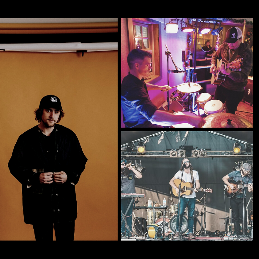 Billy Bronsted & the Loot + Listening Party + Jack Greenwood 7:00 pm