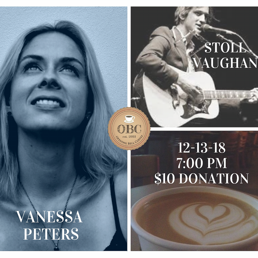 Vanessa Peters and Stoll Vaughan 7:00 pm