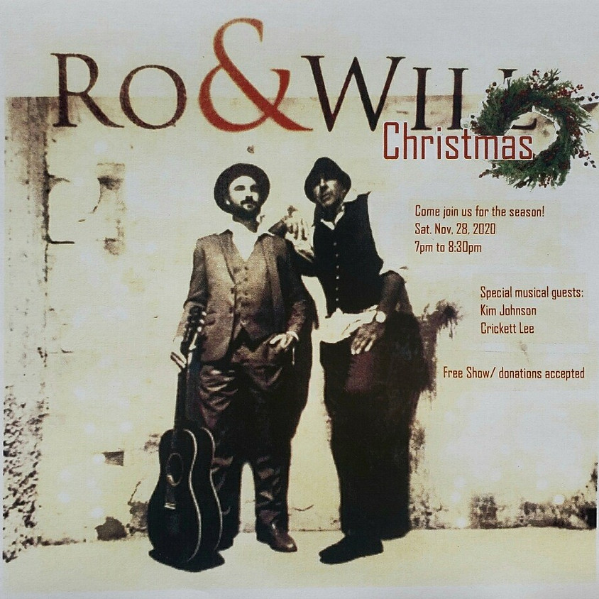 Ro & Will Christmas Show w/Special Guests Kim Johnson & Cricket Lee