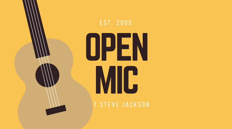 Open Mic Signup