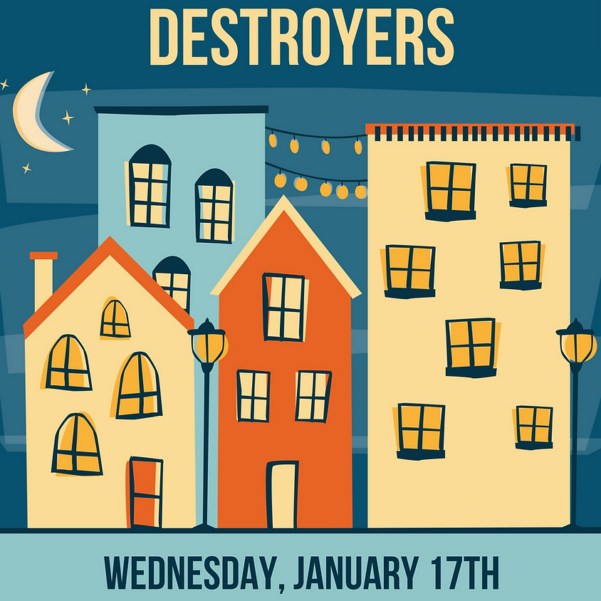 Frenchie's Blues Destroyers 8:30 pm