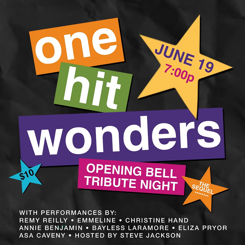 One Hit Wonders Tribute Show 7:00 pm