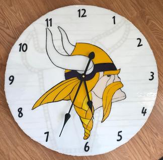 Vikings Clock