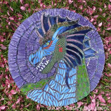 Purple Guardian Dragon