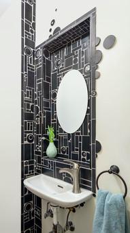 Bathroom Backsplash (residential)