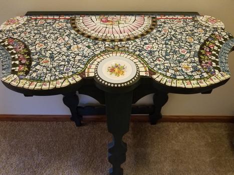 Mosaic Embellished Table