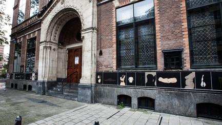 My art at Paradiso, Amsterdam!