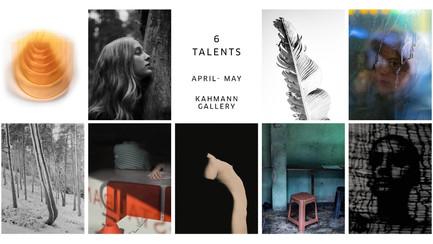 6 Talents online exhibition at Kahmann Gallery