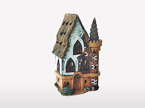 Сastle fortress, candle holder Size: 12x10x16 cm.  SKU:33h-TRC-01