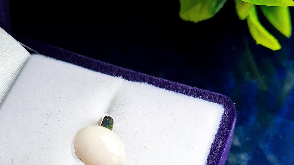 Oval breast milk ring