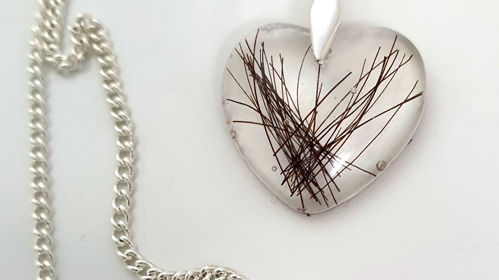 Heart necklace - no setting