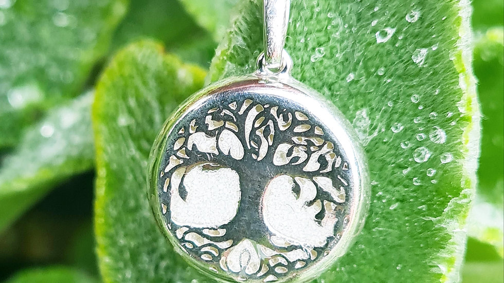 Breastmilk tree of life necklace