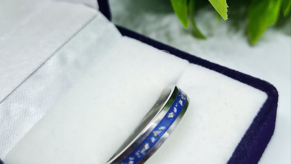 Ashes memorial ring 4mm