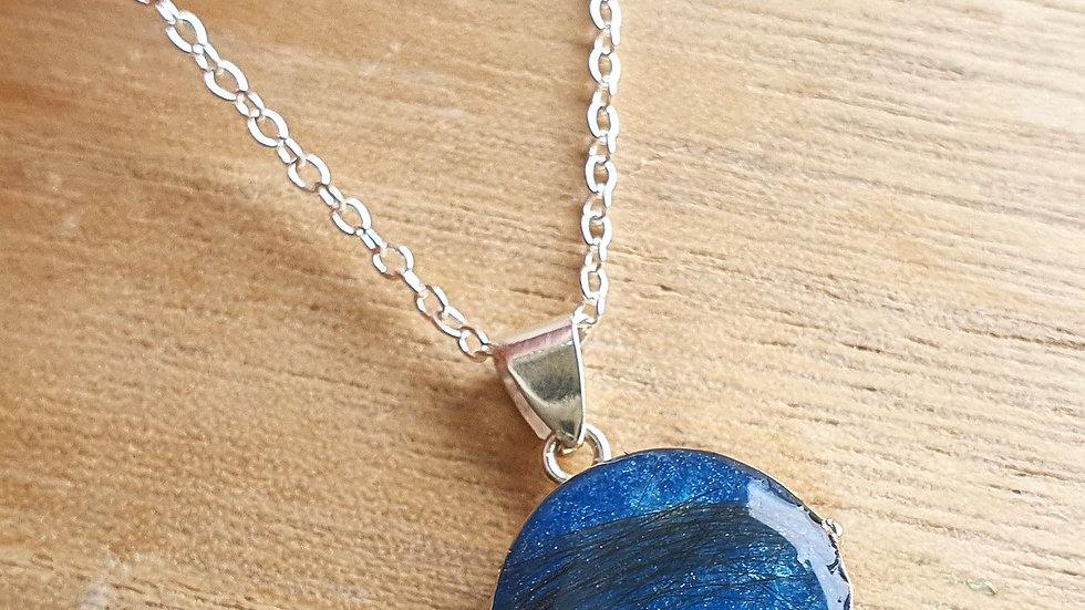 .925 14mm locket necklace