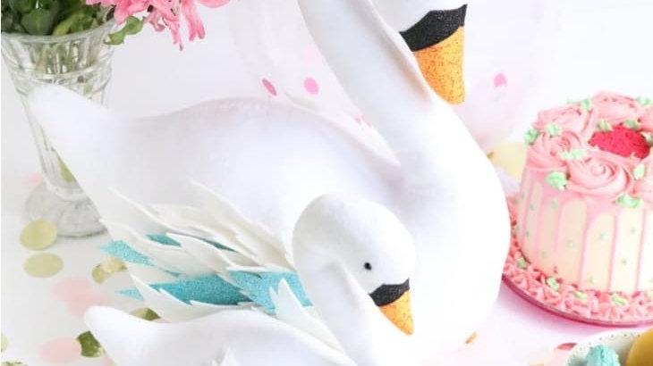 Swan memory teddy