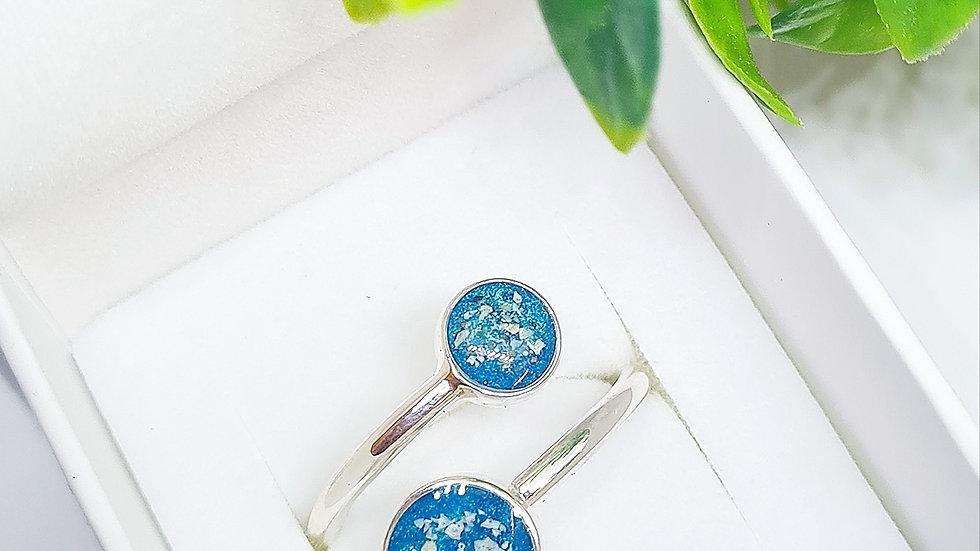 2 pendant adjustable ring