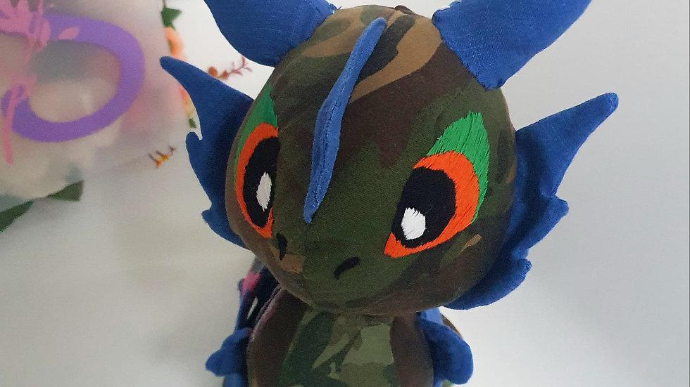 Kawaii dragon memory teddy