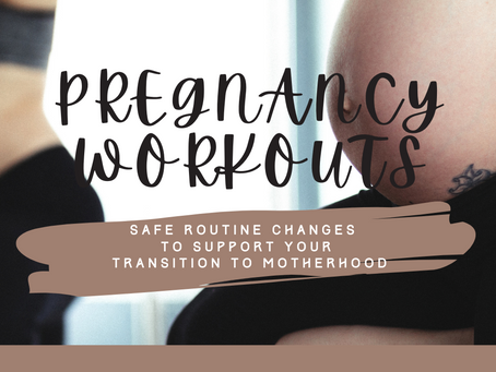 Workout Routine During Pregnancy