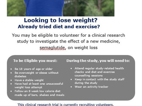 Recruiting Now-New Clinical Research Trial with Intensive Behavioral Support