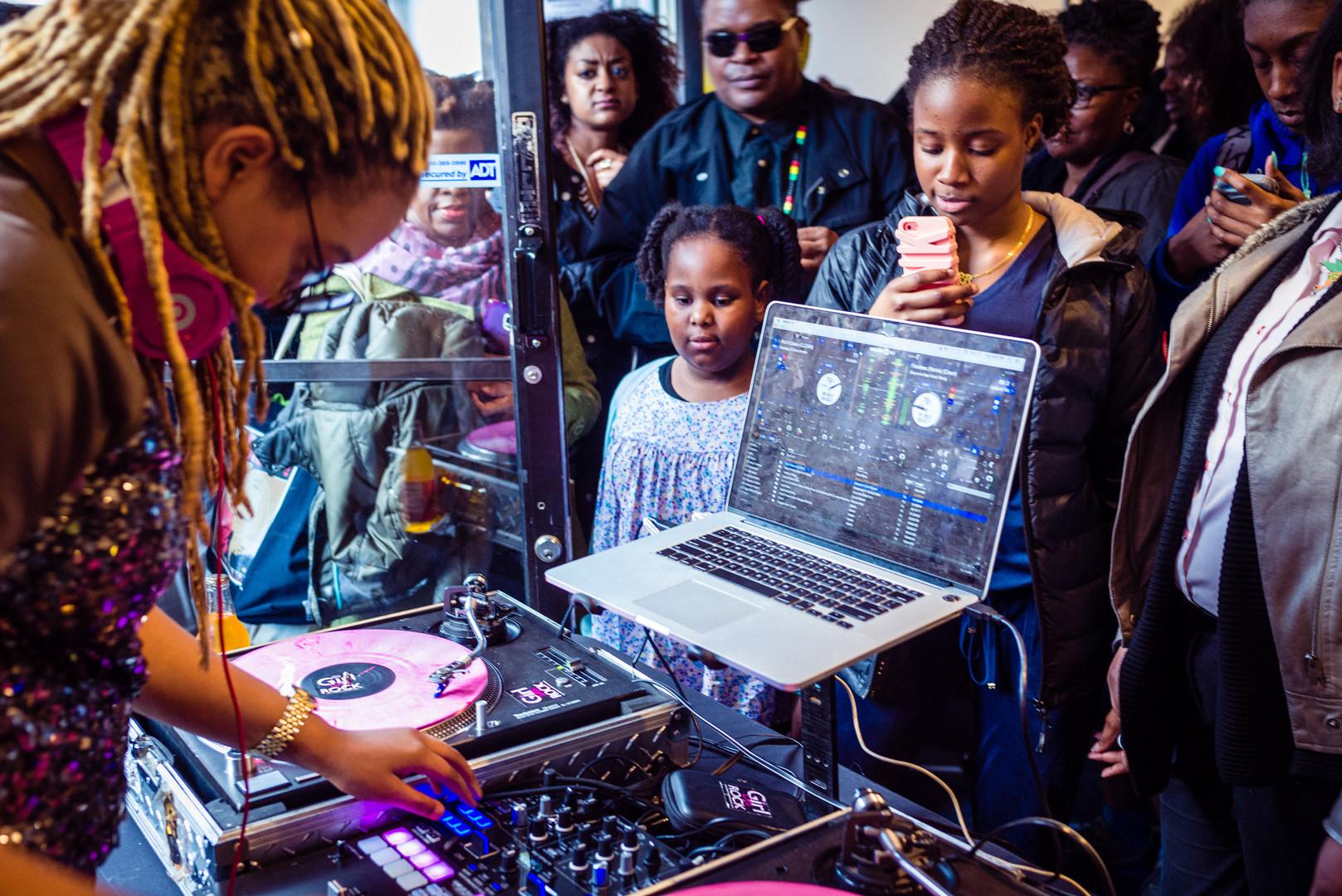 Picturing Black Girlhood Opening, 2016 (