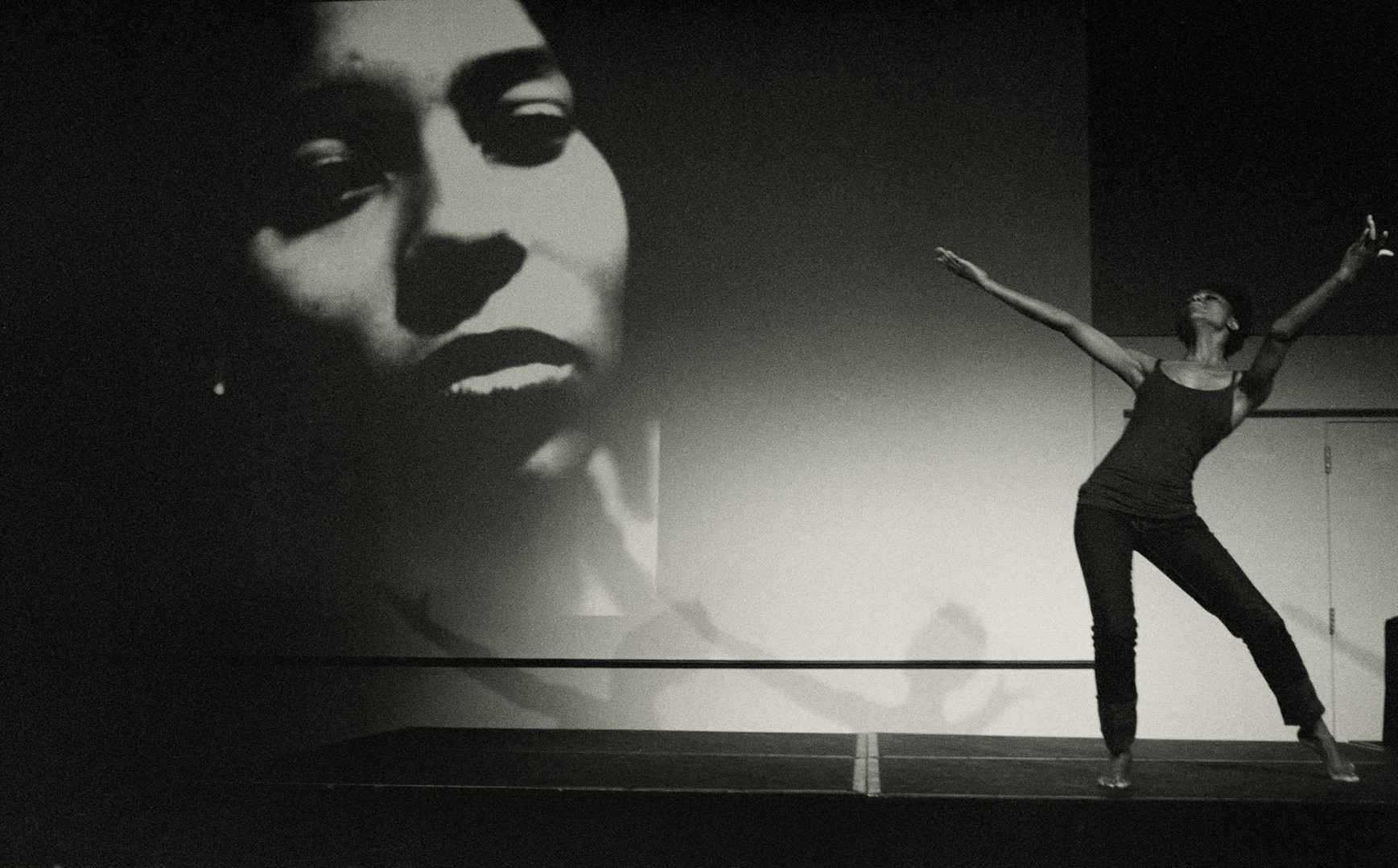 Production still from Story Of A Rape Survivor (SOARS) performance