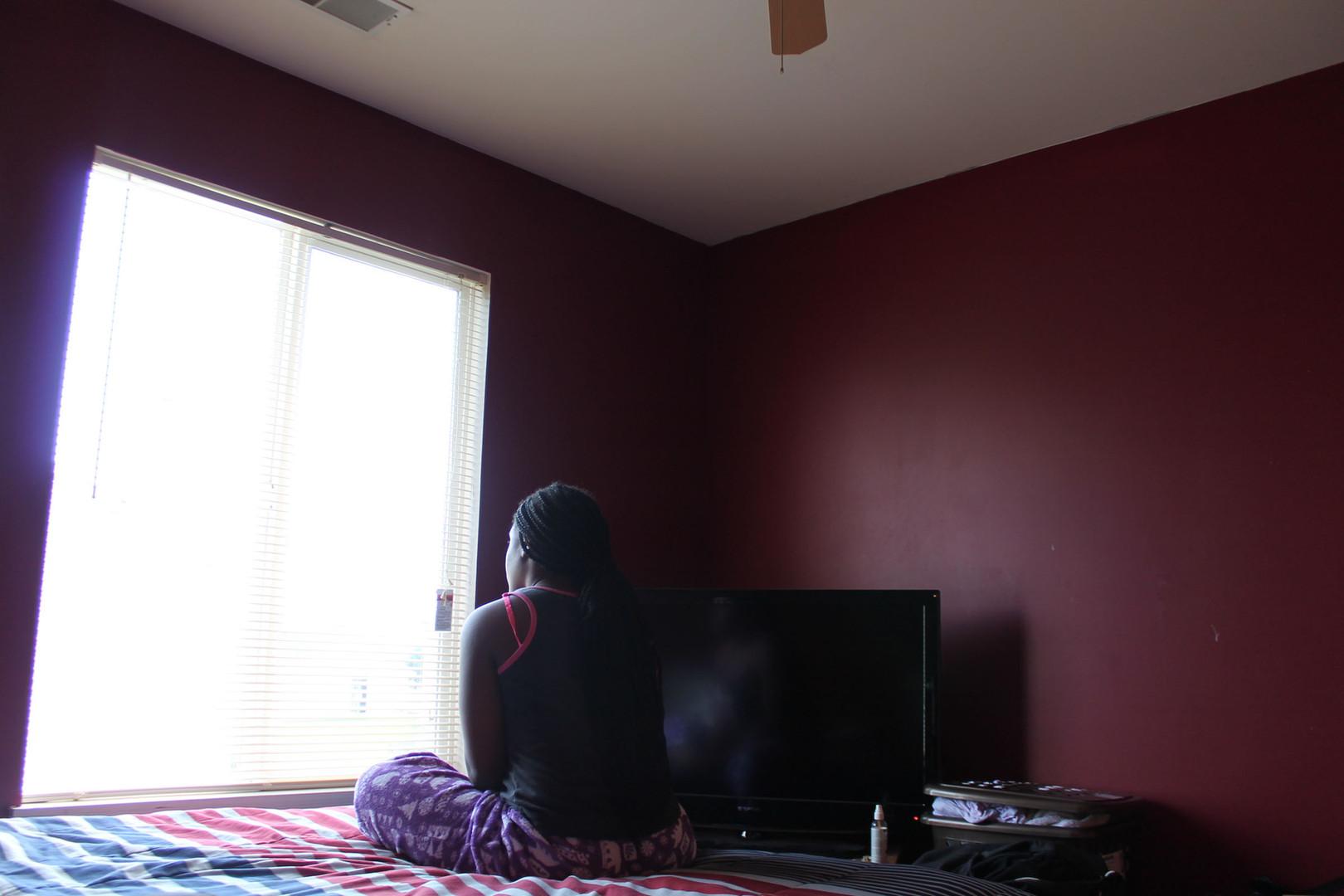 Silent Scream (Self-Portrait), Dashara M