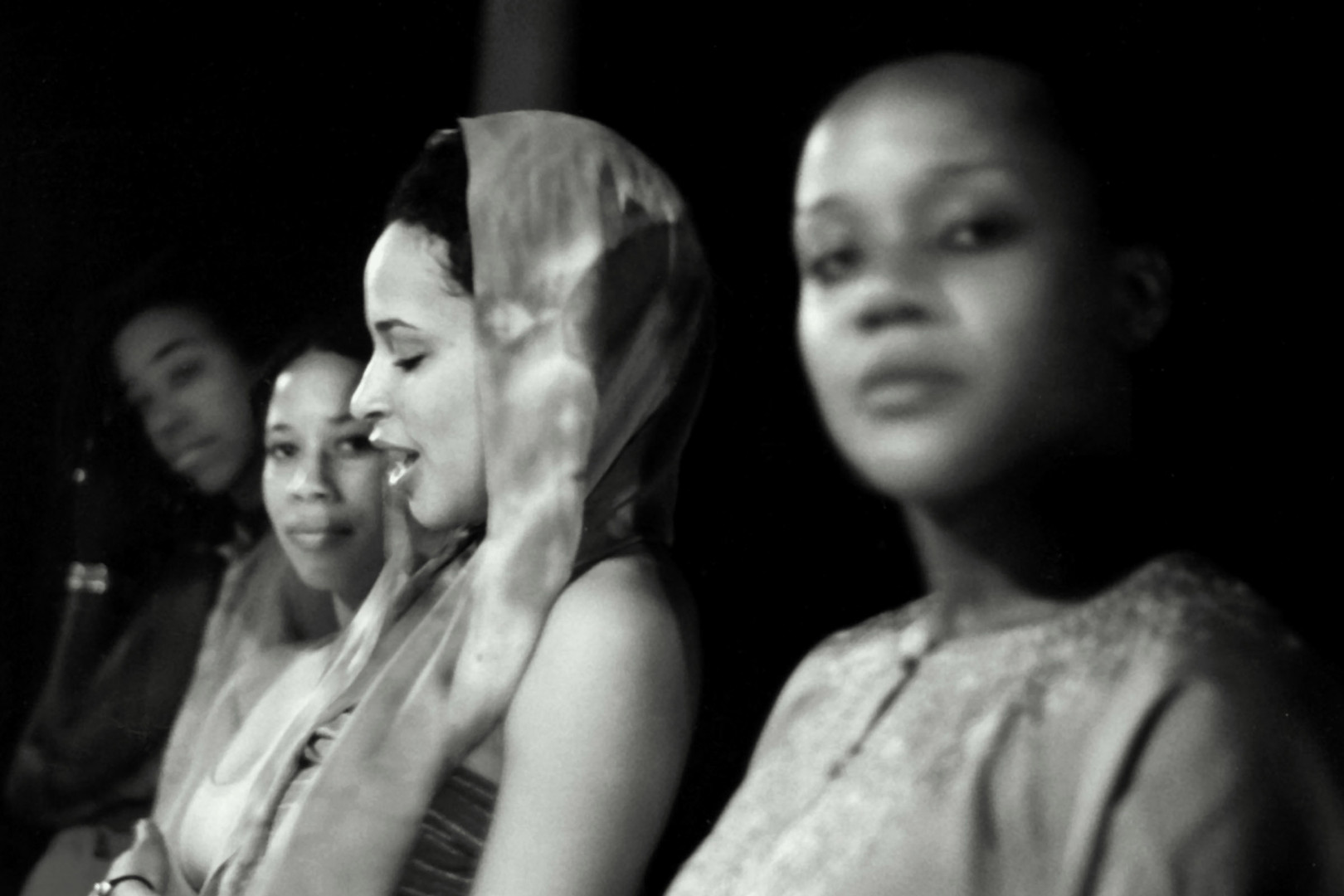 The cast from Story Of A Rape Survivor (SOARS)
