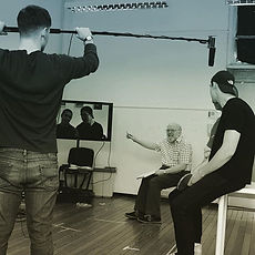 This week, our full time acting students are working intensively with acting for camera legend and a