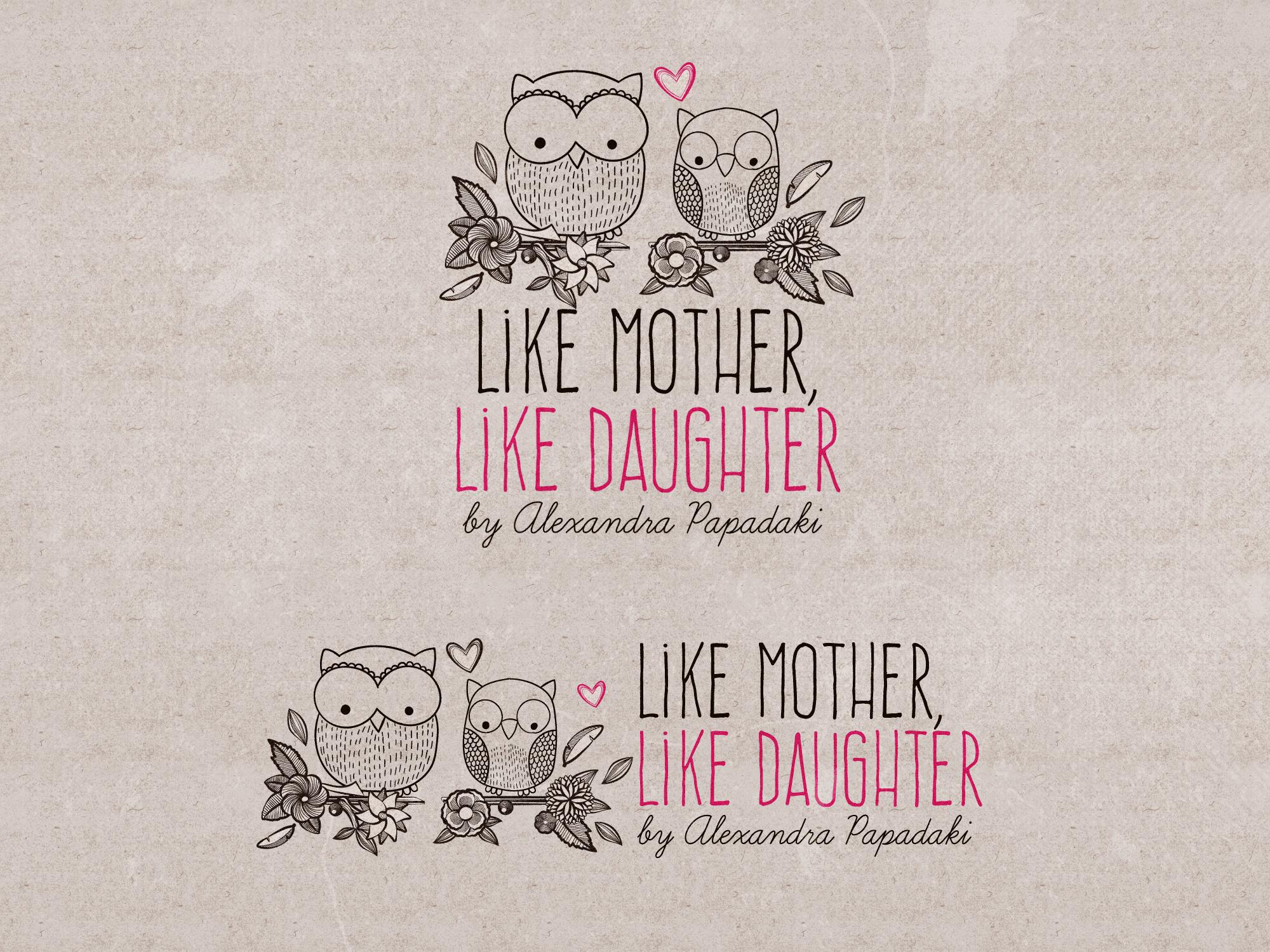 Like mother, like daughter blog