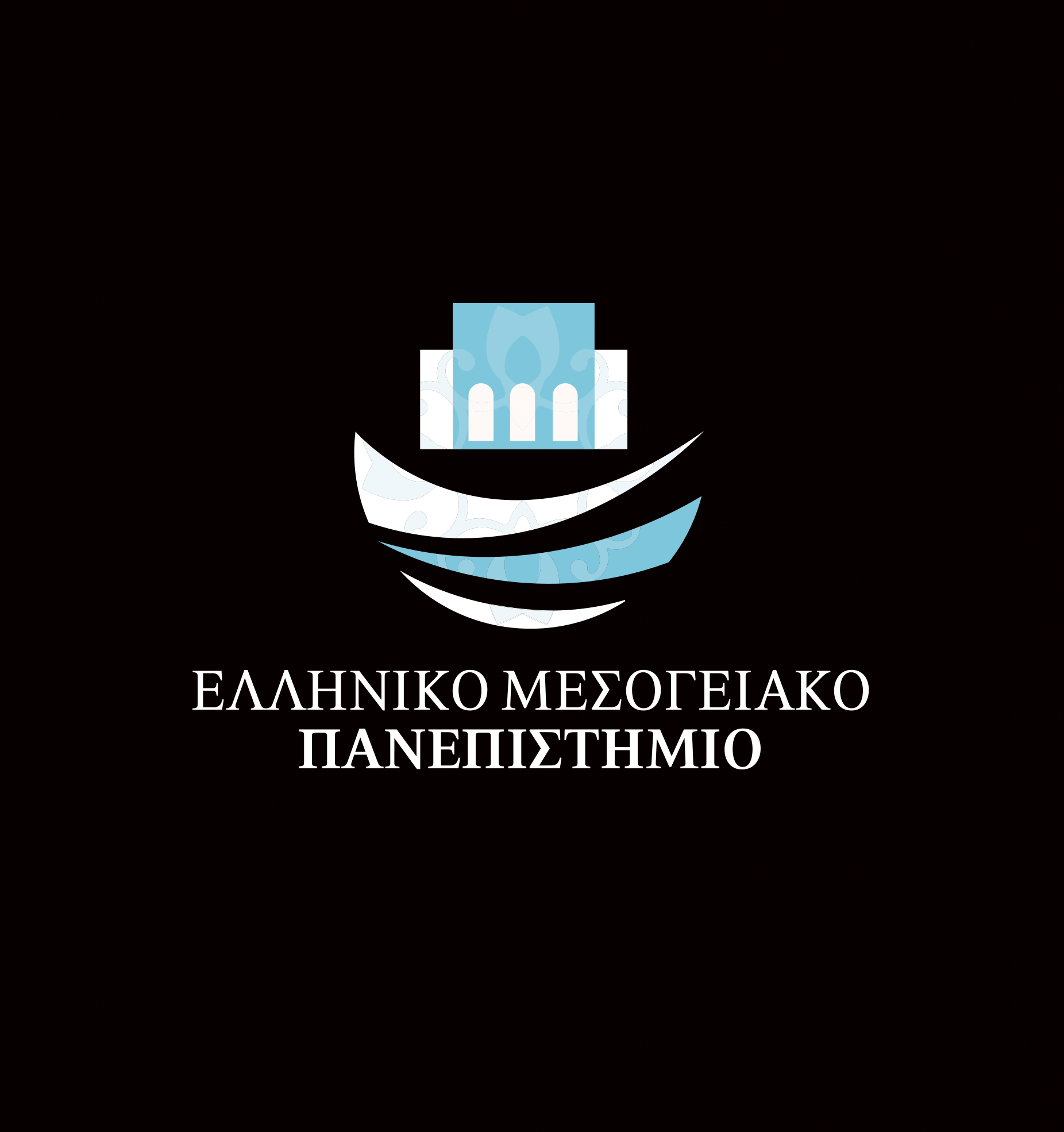 ELMEPA logo on black background