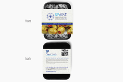 'Great' packaging (front&back)