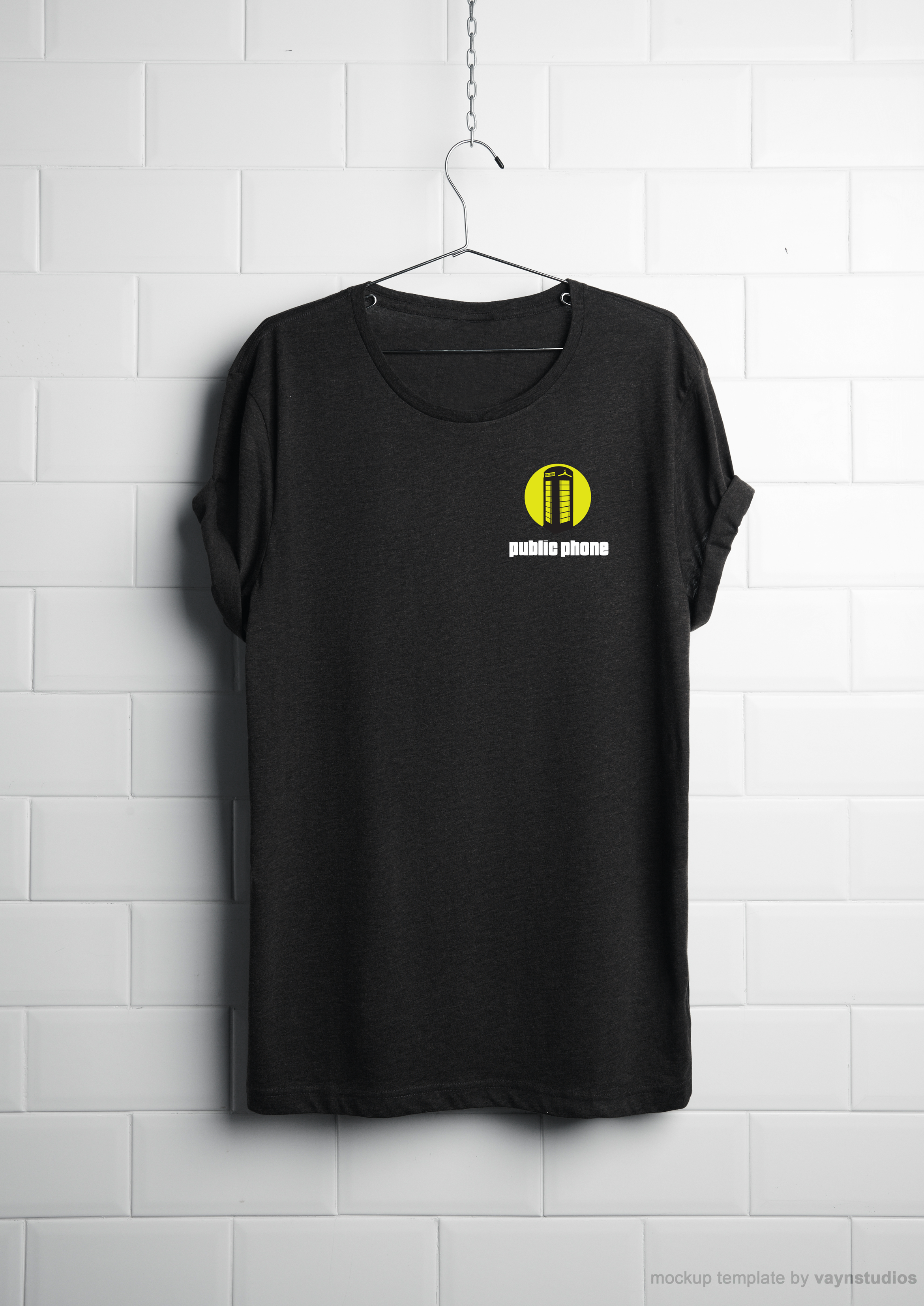 Public Phone fashion tshirt