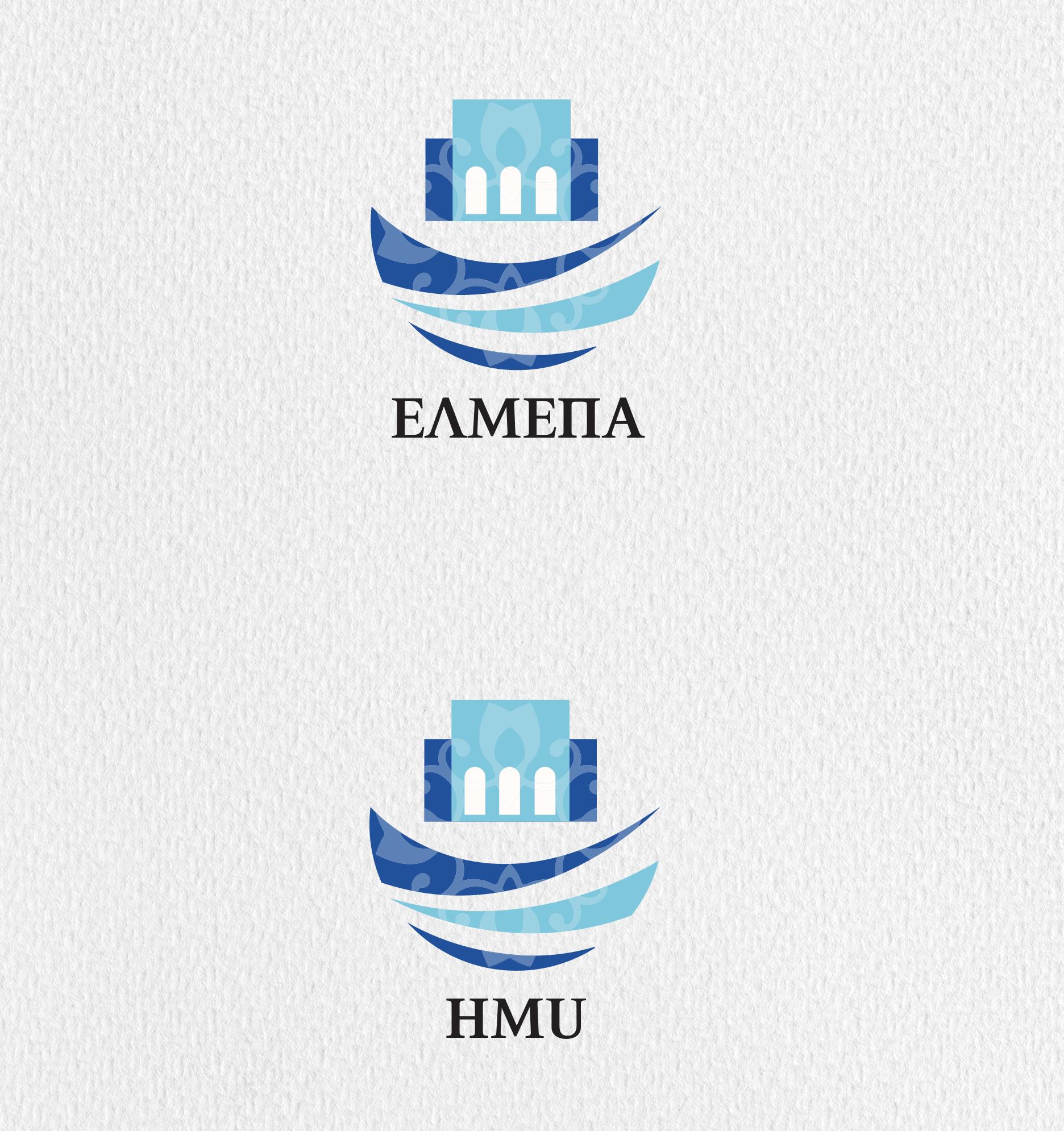 ELMEPA logo greek & english acronyms