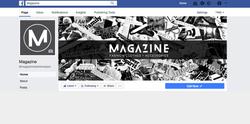 Magazine facebook cover