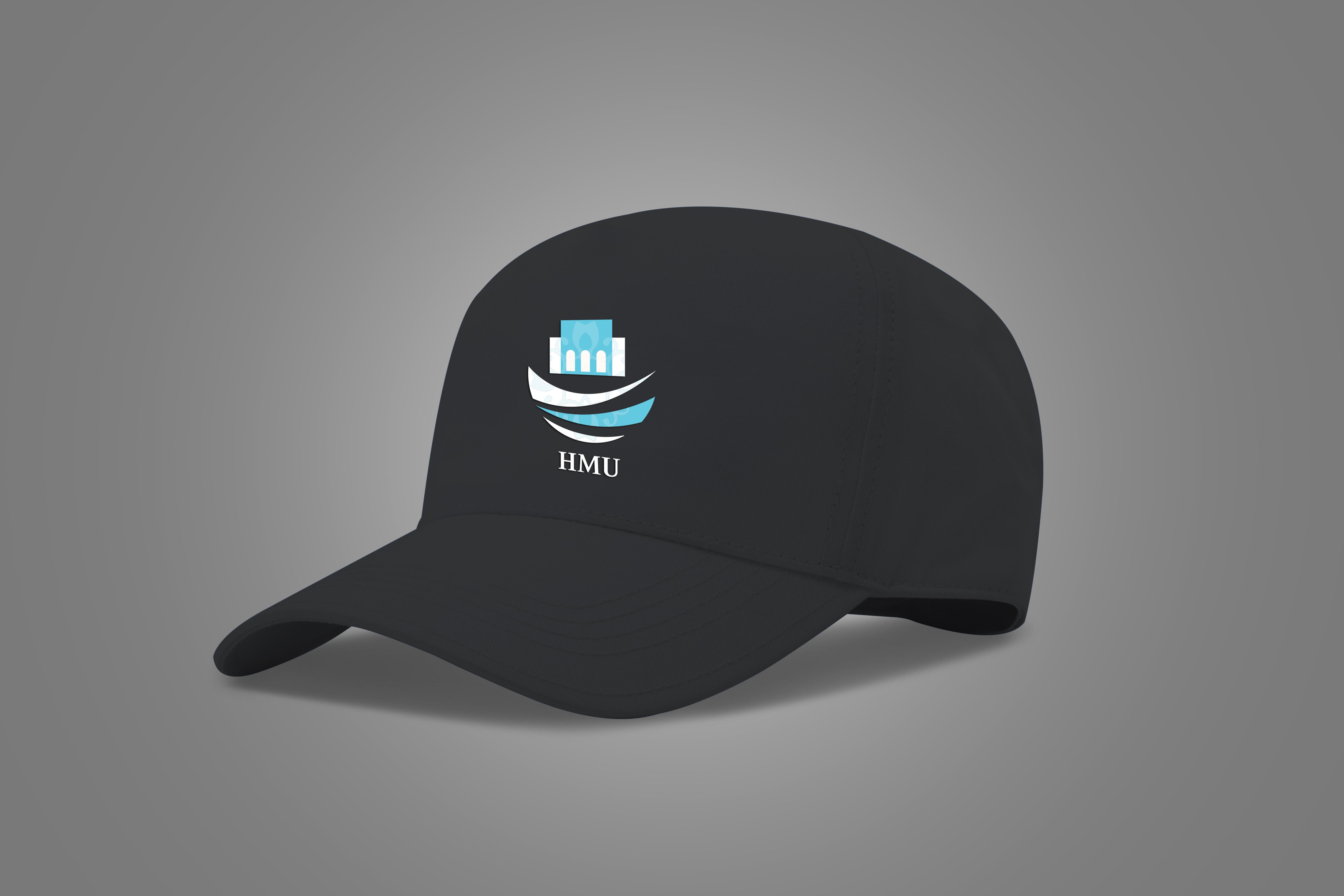 Logo applied on hat