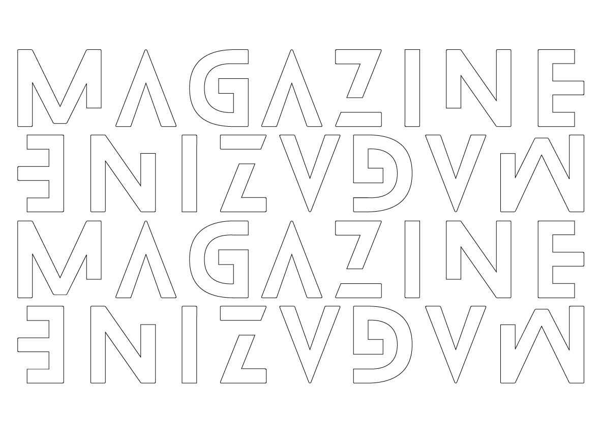 Magazine pattern