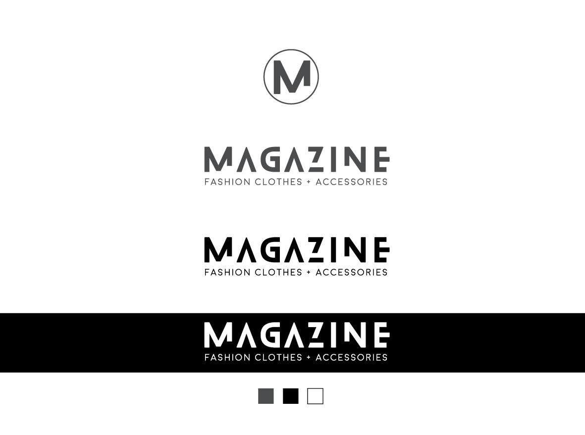 Magazine logo variations