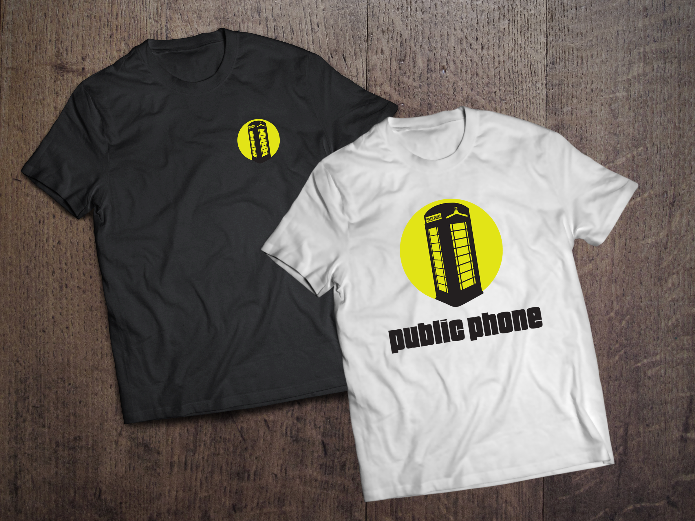Public Phone fashion tshirts