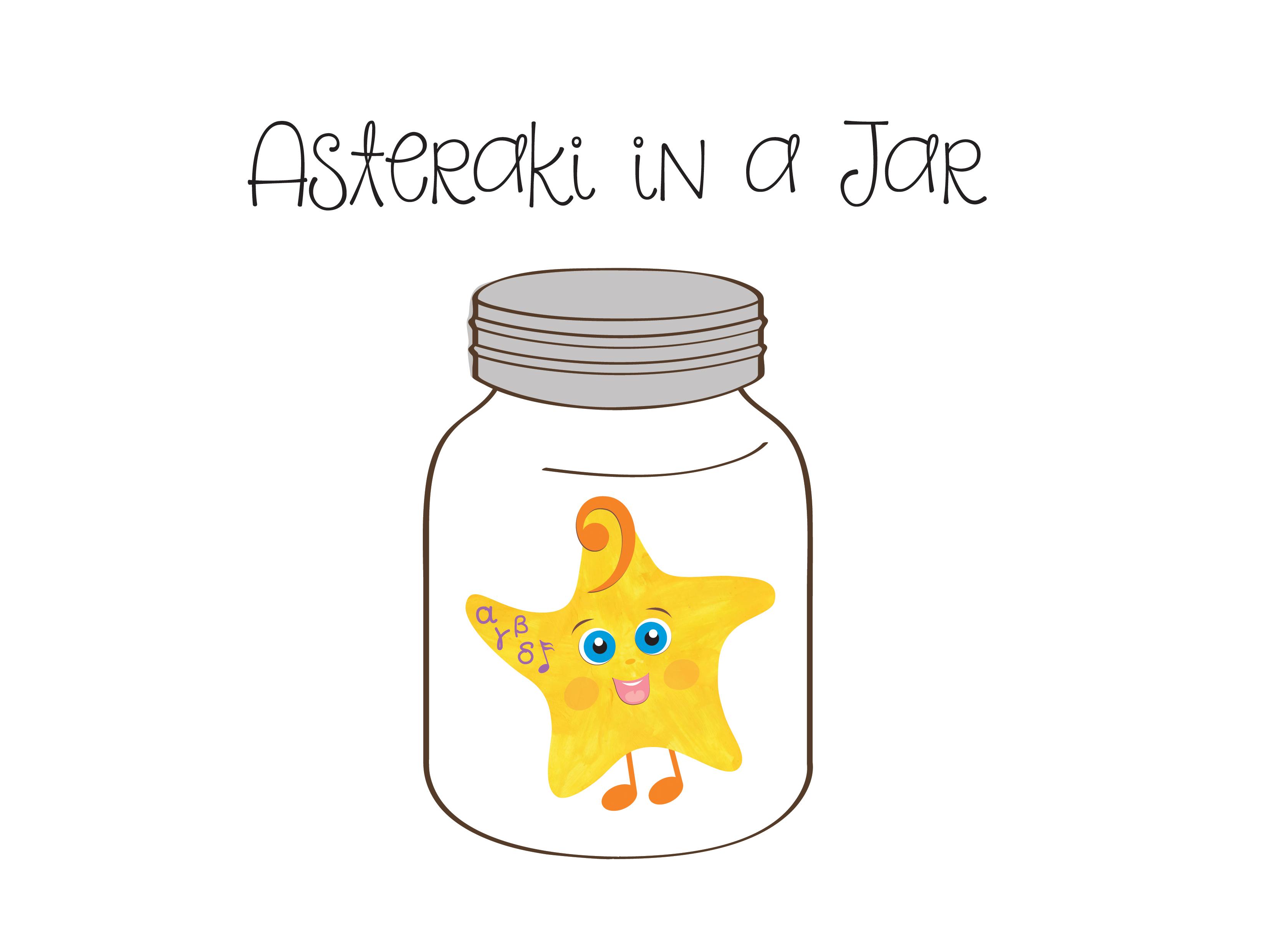 """Asteraki""   Mascot character design"